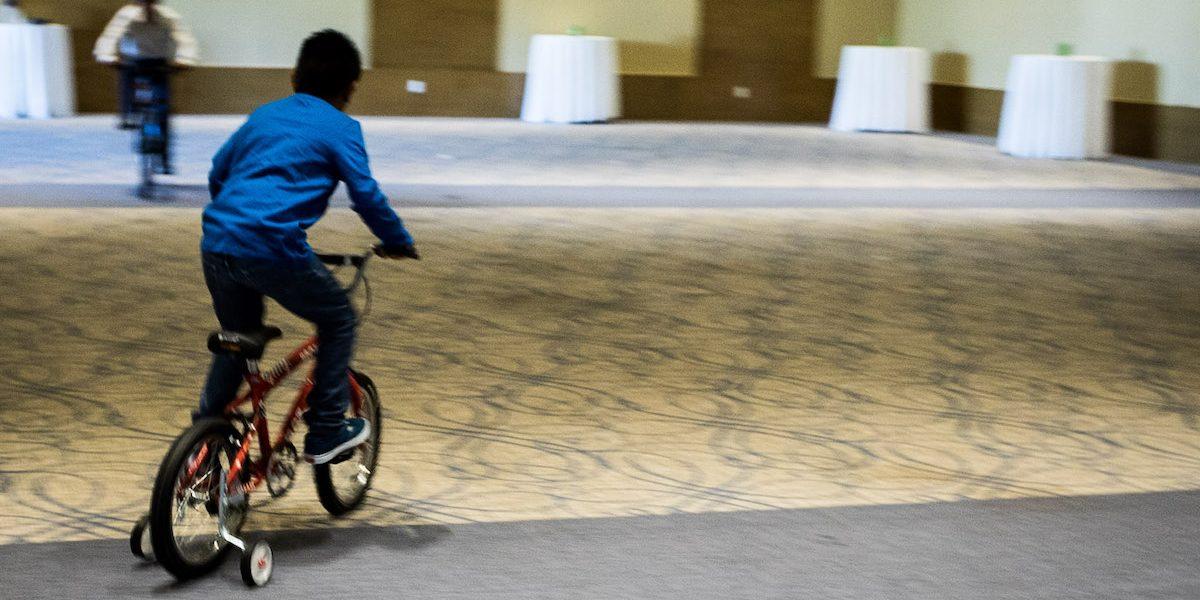 California Company donates bikes and helmets for the boys!